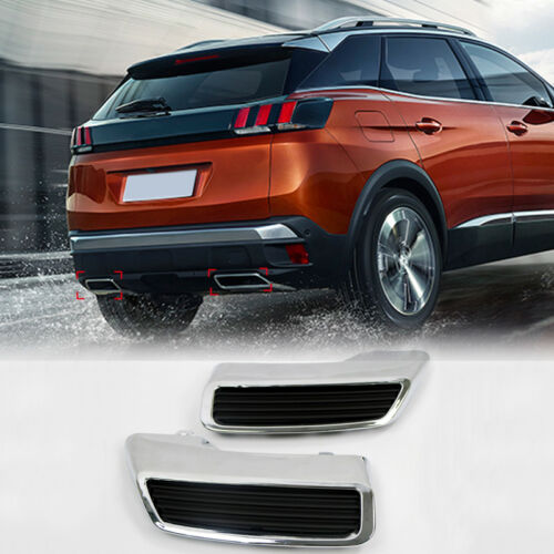 Rear Tail Exhaust Replacement Kit For Peugeot 3008 2017 2018 2019