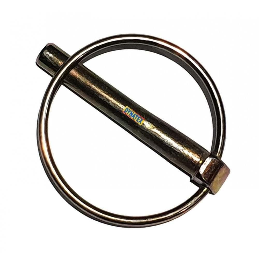 2 Lynch pin 35mm x 4.5mm 3/16 Retaining Lock Pin Trailer D Clip Round Locking