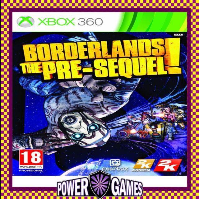 BORDERLANDS: THE PRE-SEQUEL! (Microsoft Xbox 360) Brand New