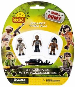 Cobi-Small-Army-Figurines-Mini-Figures-Accessories-3-Pack-building-blocks-2020