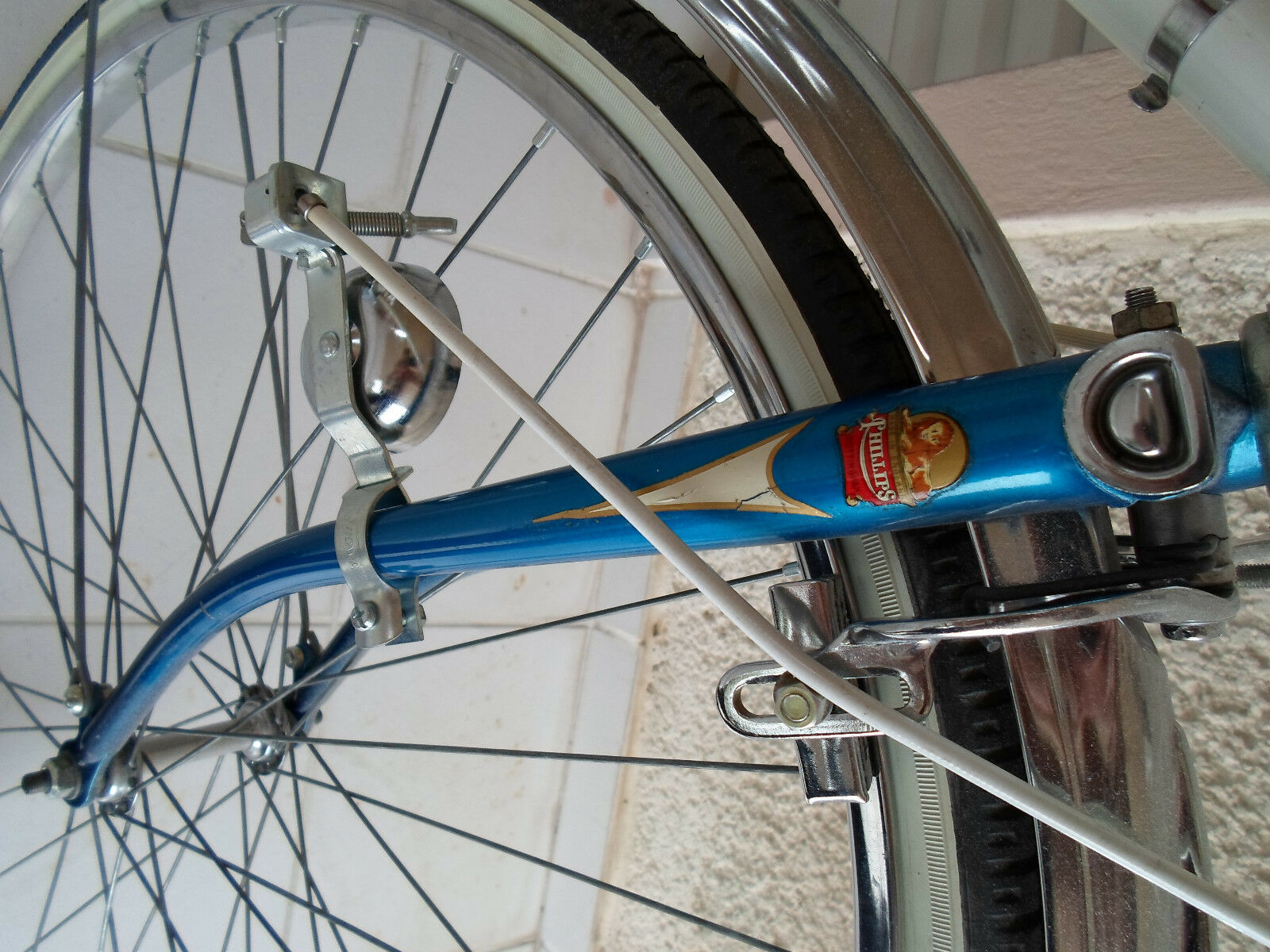 Vintage NOS Bicycle Fork Bell - SHOWA - with  control lever for RALEIGH SCHWINN  hot