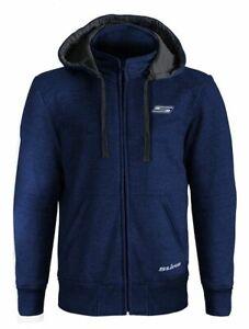 Veste-a-Capuche-STREET-Moto-type-Sweat-Homme-avec-Renforts-CE-Bleu-fonce