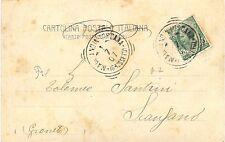 P7140   Grosseto, Magliano in Toscana, ann. tondo riquadrato 1907