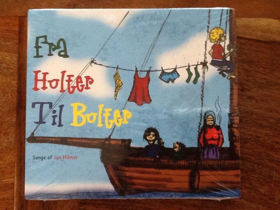 Jan Hilmar: Fra Hulter Til Bulter, børne-CD