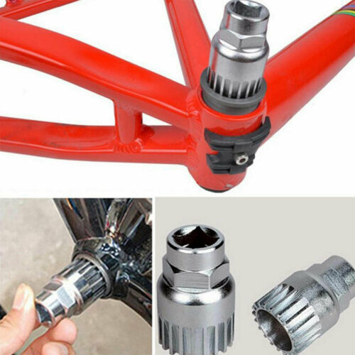 4 in 1 Mountain Bike Bicycle Crank Chain Axis Extractor Removal Repair Tools Set