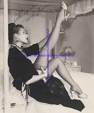 SEXY MITZI GAYNOR UPSKIRT LEGS IN THE AIR NYLONS CUBAN HEELS LEGGY PHOTO A-MG3