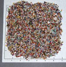 GEMSTONE MIX 3-5mm, tumbled 1/2 lb bulk xxmini+ stones quartz, jasper, more
