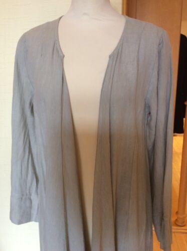 £93 £42 Rock Beige Eden Xs Jacket Size Long Linen Now Bnwt Rrp 7wWgzqx
