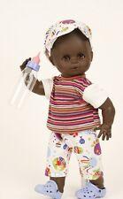 Schildkröt Puppenkleidung für 40 cm Puppen, bunte Hose mit Ringelshirt