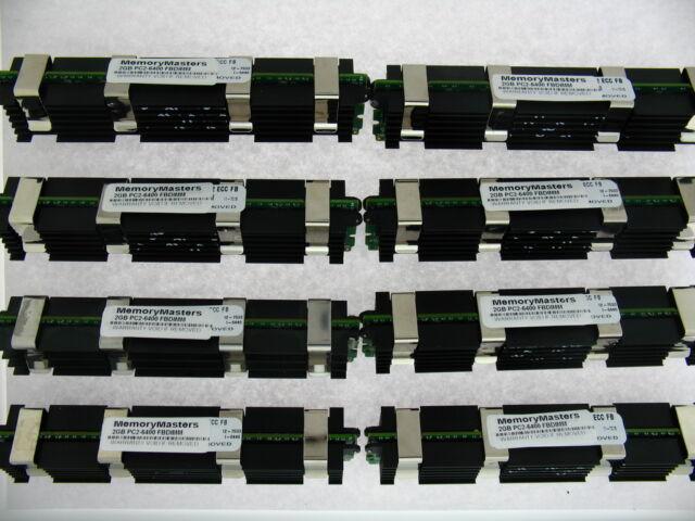 16GB (8X2GB) DDR2 800MHz PC2 6400 Memory for Apple Mac Pro GEN 3.1 MA970LL/A