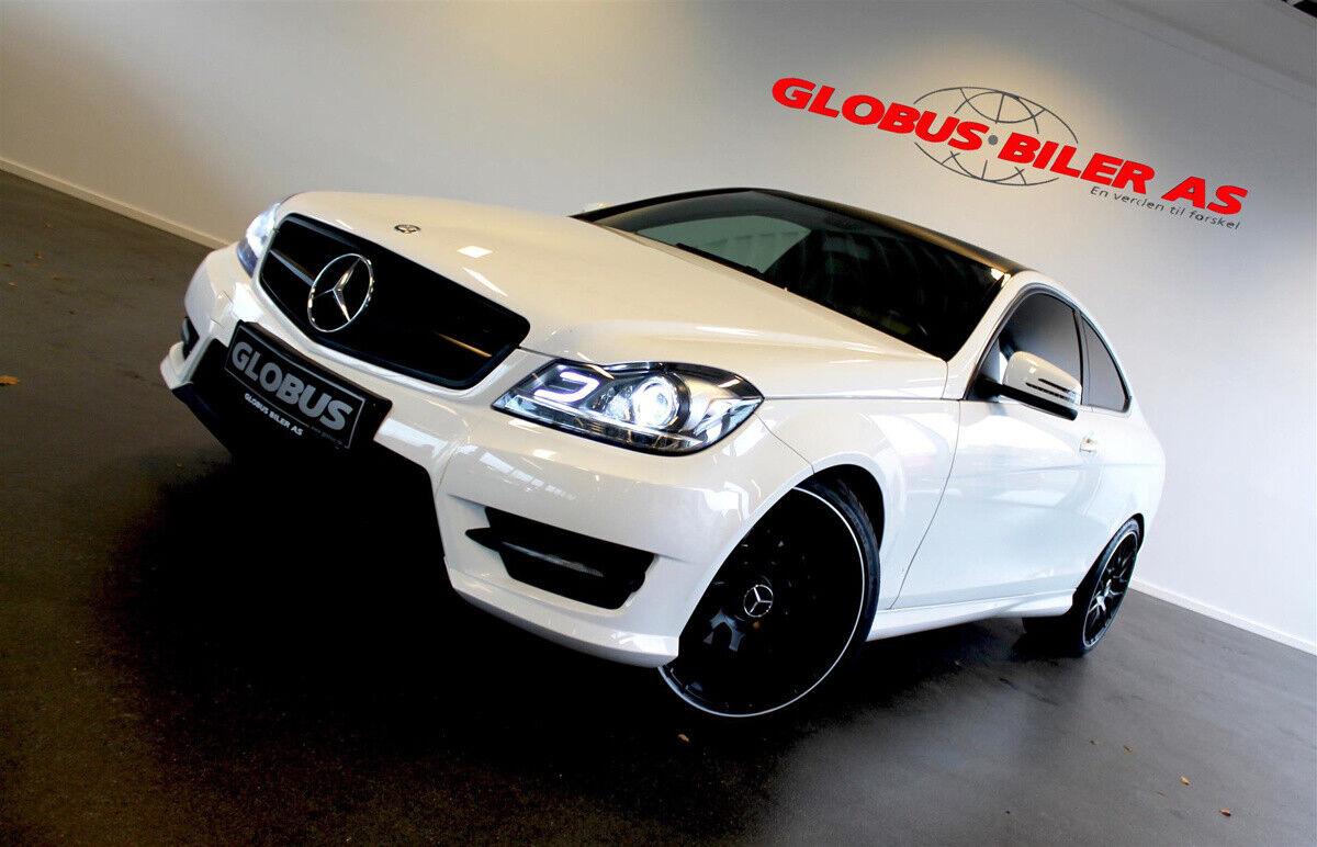 Mercedes C220 2,2 CDi Coupé aut. BE 2d - 229.900 kr.
