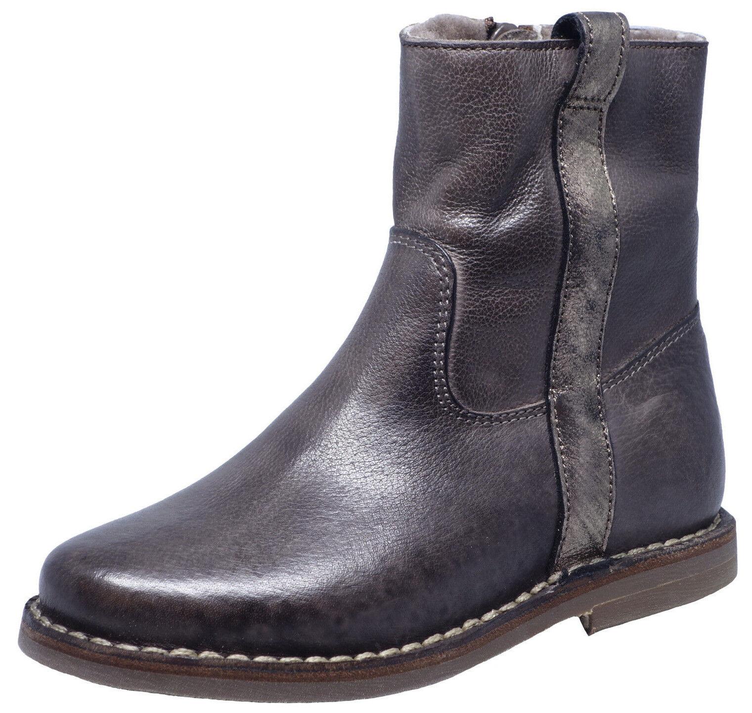 Descuento de la marca Grandes zapatos con descuento Zecchino d'Oro F16 4623 Taupe Lammfell Stiefeletten Chelsea Boots 28 - 37 Neu