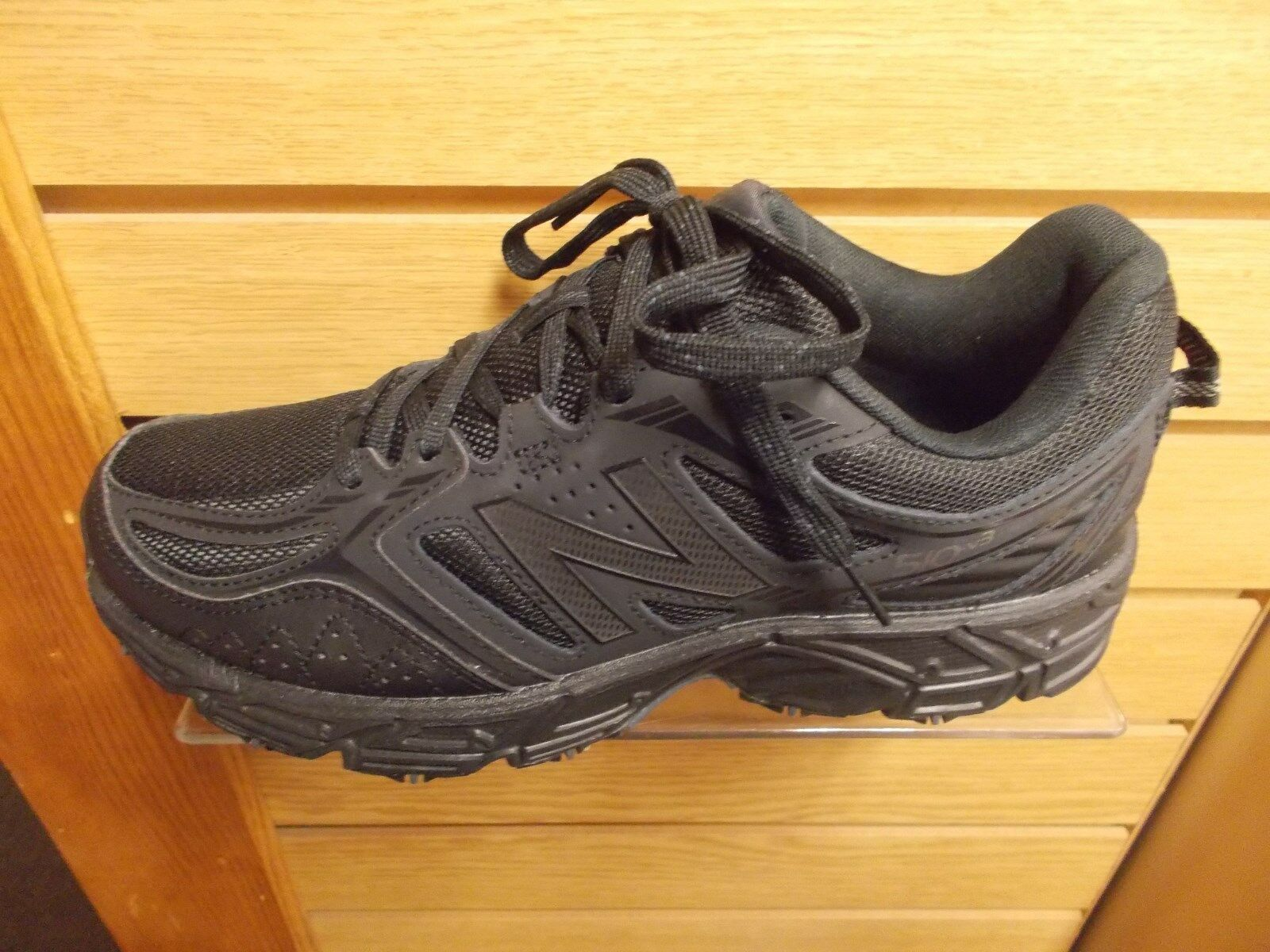 NEW BALANCE MEN'S MT 510 TRAIL RUNNING OR WALKING SHOES BLACK MEDIUM D   NEW