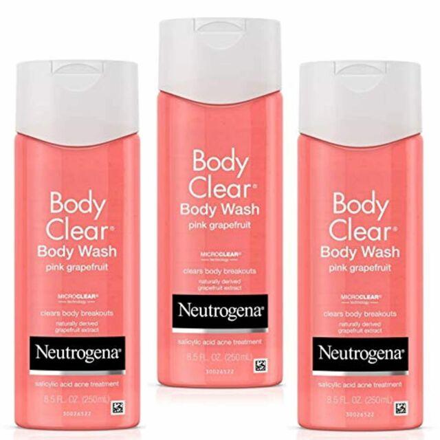 Neutrogena Body Clear Pink Grapefruit Salicylic Acid Acne Body