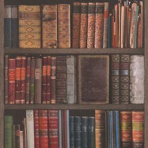 Biblioteca-Libros-papel-pintado-Rollos-Rasch-934809-Estanteria-NUEVO-Estudio