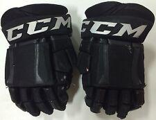 "CCM U+ CL Crazy Light 14"" Pro Stock Hockey Gloves w/ Shot Blockers Stars 2757"