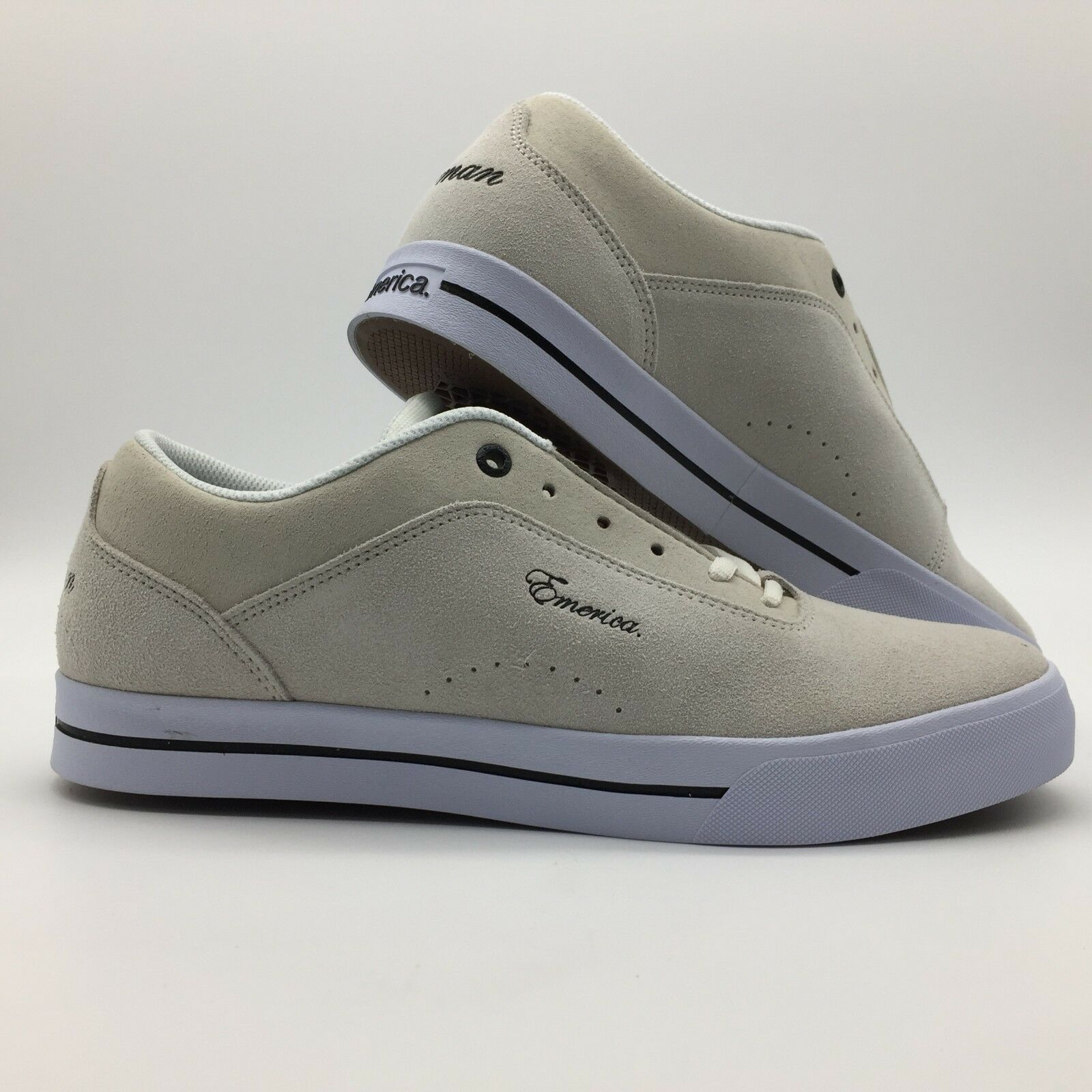 Emerica Herren Schuhe   G-Code Re-Up   Weiß Weiß Skateschuhe     |  | Große Auswahl  | Fein Verarbeitet
