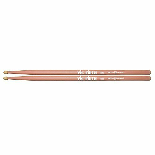 d5cb512507 3 Pairs Vic Firth 5ap American Classic 5a Pink Drum Sticks - Wood Tip  Drumsticks