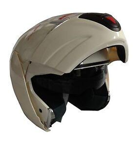 NEW-DVS-DUAL-VISOR-SYSTEM-FLIP-FRONT-MOTORCYCLE-CRASH-HELMET-BLACK-or-WHITE