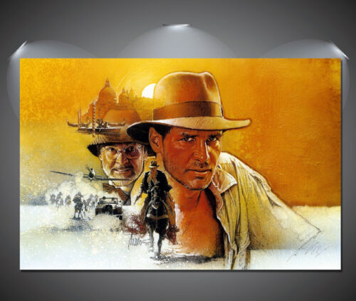A3 A4 sizes A2 Indiana Jones Vintage Movie Poster A1