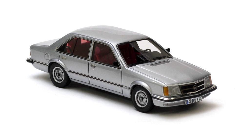 Opel Commodore C 4-door  gris Metallic  1978 (Neo Scale Models 1 43   43691)