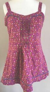 Joe-Browns-Ladies-Summer-Pink-Floral-Strap-Vest-Top-Size-12