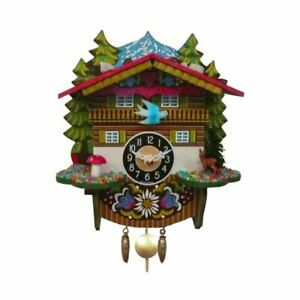 Loon Peak Battery Operated Forest And Bird Swing Cuckoo Wall Clock LOPK1729