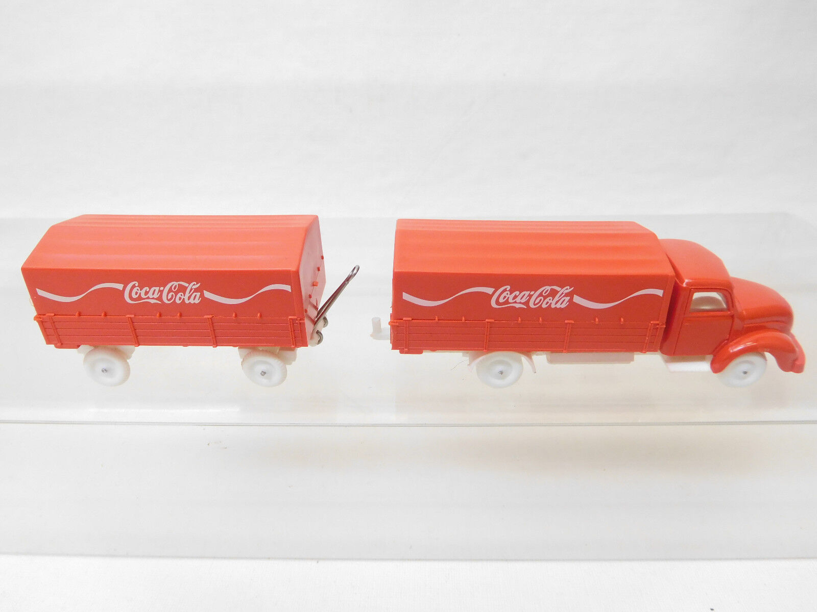 Eso-4756 IMU Replika 1 87 Magirus Pritschen LKW Coca Cola sehr guter Zustand