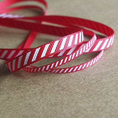 9mm wide Pencil Stripe Ribbon 2 Metres