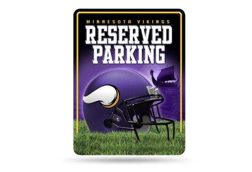 Rico Industries NFL MINNESOTA VIKINGS Parking Sign Schild NEU//OVP