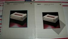 1983 Apple ImageWriter I Printer Manuals 1984 Macintosh 128k 512K II II+ IIe IIc