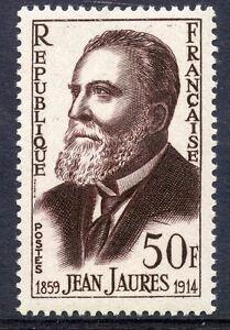 Stamp / Timbre France Neuf N° 1217 ** / Celebrite / Jean Jaures