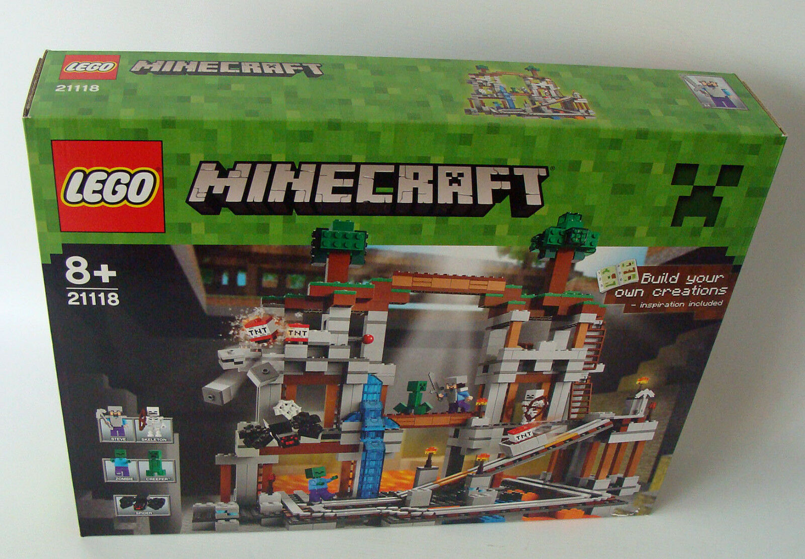 Lego ® Minecraft 21118-mina 926 piezas 8+ nuevo new