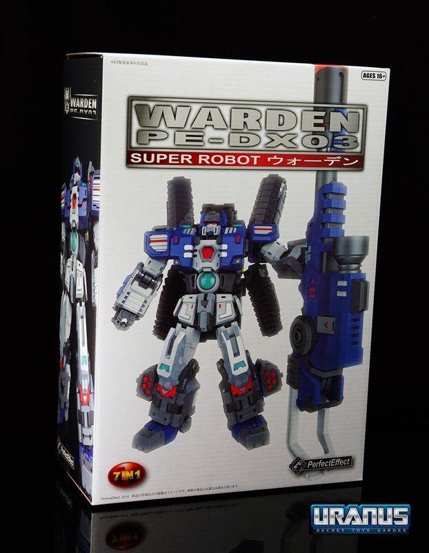 Navidad Transformers Perfecto efecto PE-DX03 alcalde Fortress Maximus Titanes