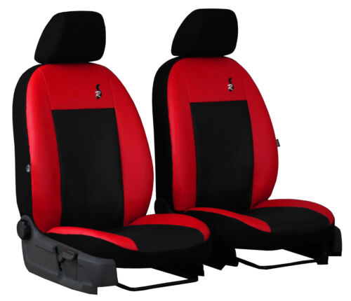 TOYOTA HILUX 2016 PRESENT ECO LEATHER TAILORED FRONT SEAT COVERS MADE TO MEASURE