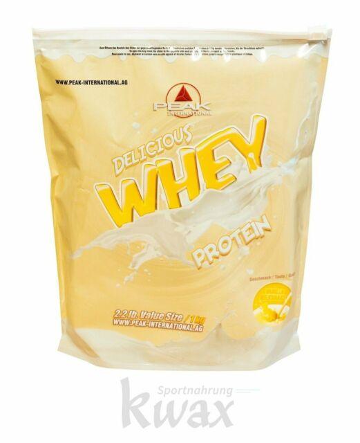 (19,75 Euro/Kg) Peak Delicious Whey Protein 1000g Beutel