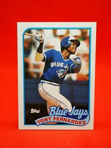Topps 1989 carte card Baseball MLB NM+/M Toronto Blue Jays #170 Tony Fernández