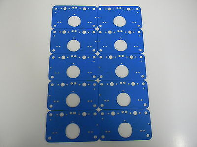 AED /& QFT B//G Holley Blue Non Stick Base Gasket Demon Five Pack; Avenger