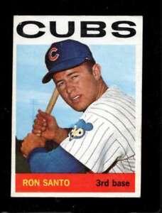 1964-TOPPS-375-RON-SANTO-VGEX-CUBS-HOF-SBA4678