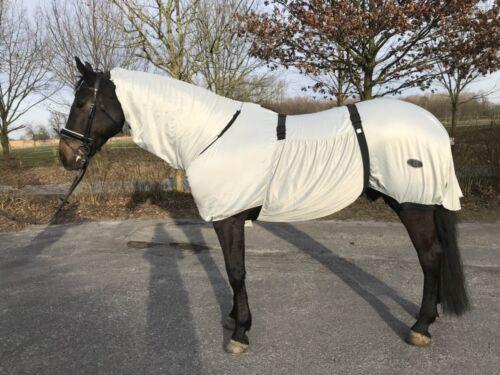 125 cm grau HORSE GUARD Ekzemer-Decke Gr