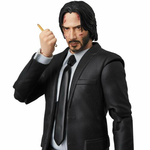MEDICOM TOY MAFEX No.085 Chapter 2 John Wick Figure JAPAN OFFICIAL IMPORT
