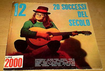 20 SUCCESSI DEL SECOLO Serie Niagara n. 12 Sergio Mauri Mario Battaini LP TIGER