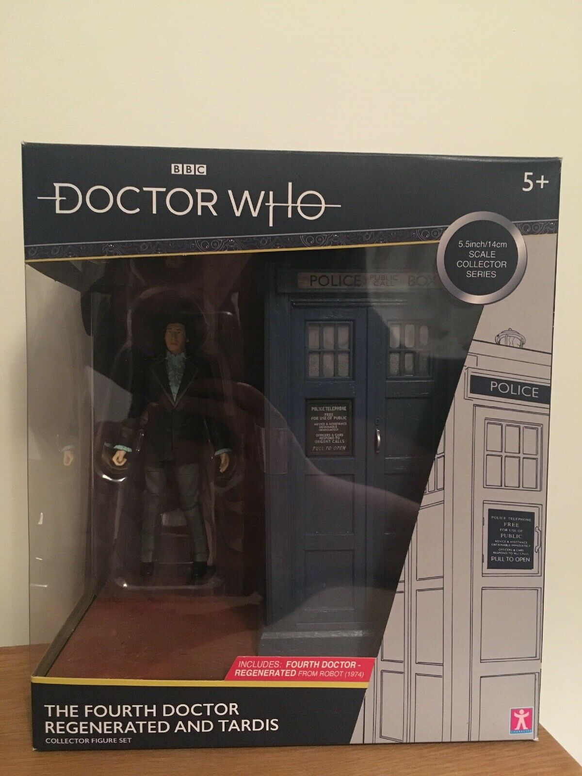 Dr Doctor Who Who Who - Regenerated Fourth Doctor and TARDIS (B&M Exclusive, NEW) 3619b7