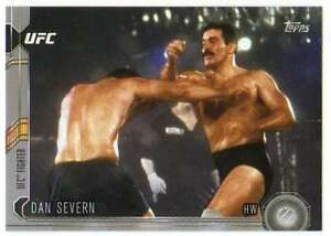 2015-Topps-UFC-Chronicles-Silver-Parallel-3-Dan-Severn