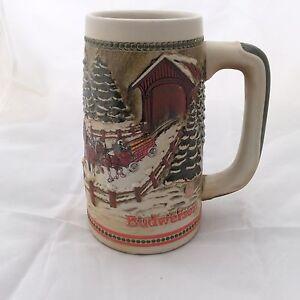 Vintage Budweiser Collectible Beer Stein