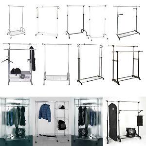 rollgarderobe garderobenwagen garderobe verschiedene. Black Bedroom Furniture Sets. Home Design Ideas