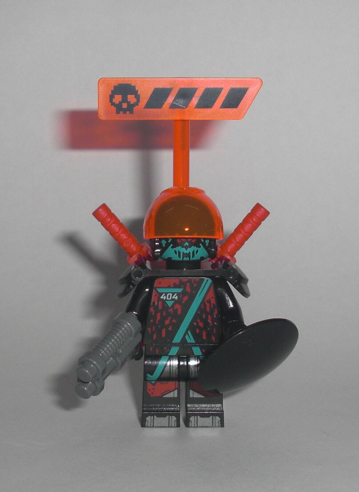 LEGO® 71710 NINJAGO Rot Visiere Minifigur Figur NEU
