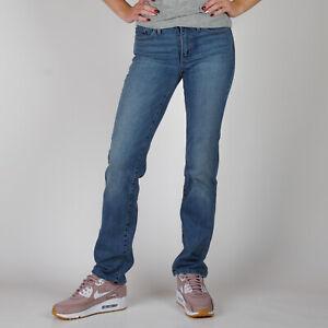 Levi-039-s-Mid-Rise-Skinny-Blau-Damen-Jeans-DE-36-W29-L32