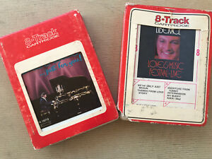 Lot-2-8-Track-Music-Tapes-Liberace-Just-For-You-Love-amp-Music-Festival-Live