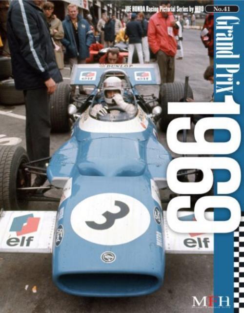 Mfh Buch No41 Grand Prix 1969 Matra Ms80 Ford F5000 Hiro